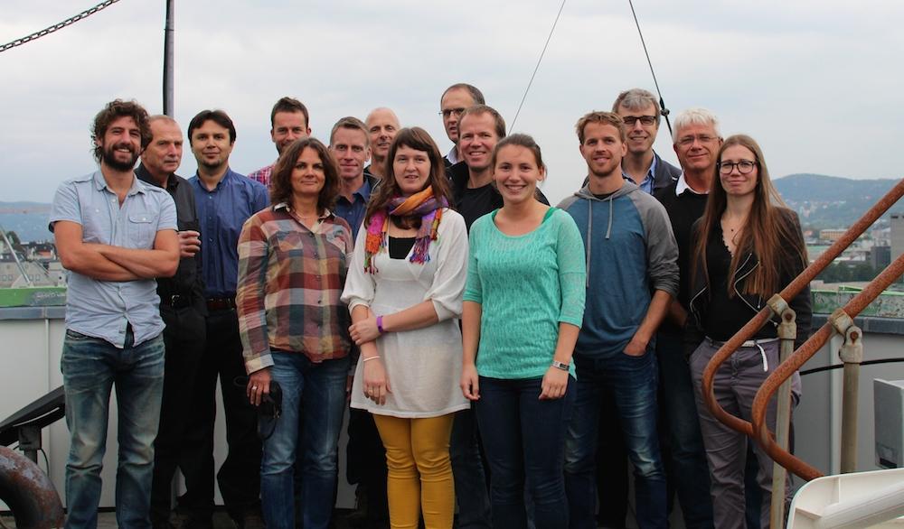 NORTH team 2014. Foto: Gudrun Sylte