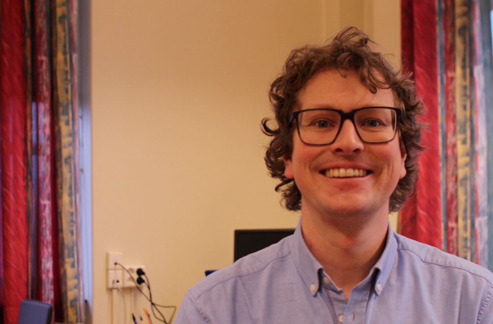Ingjald Pilskog, new postdoc in the Organic project