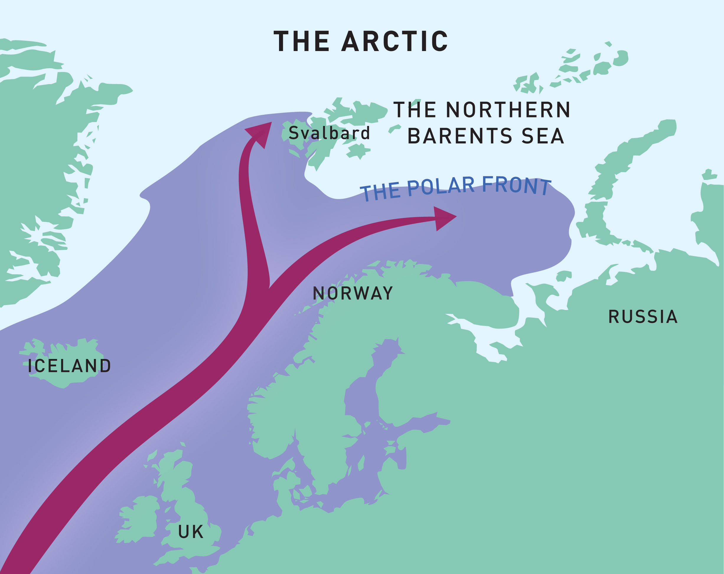 Arctic to Atlantic