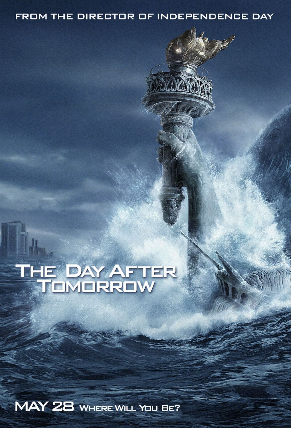 I Day After Tomorrow er endringene i havsirkulasjon urealistisk hurtige. (Foto: Twentieth Century Fox Norway)