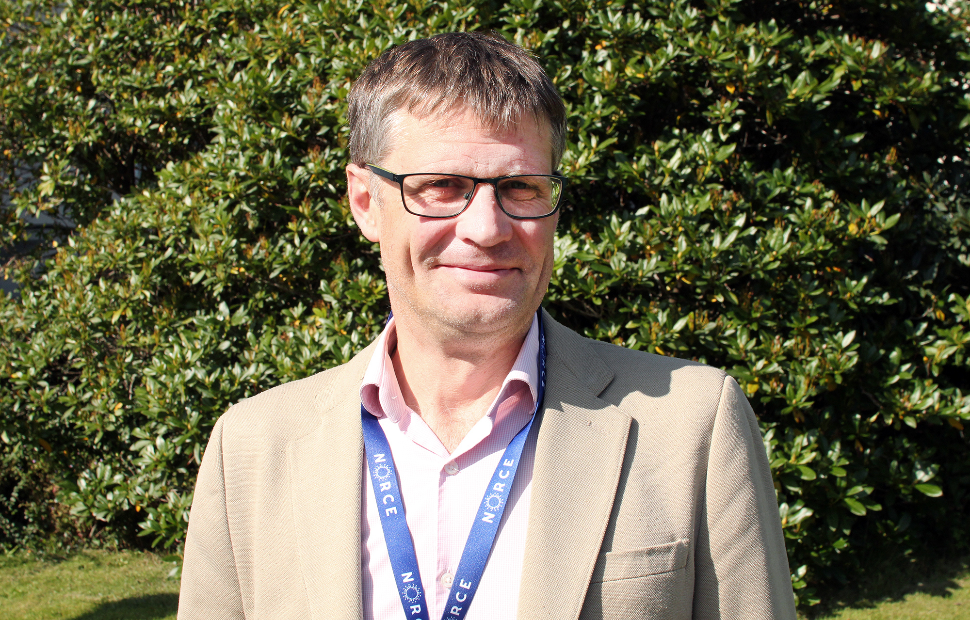 Richard Sanders, Researcher with NORCE and the Bjerknes Centre, and OTC director. (Photo: Andreas Hadsel Opsvik)