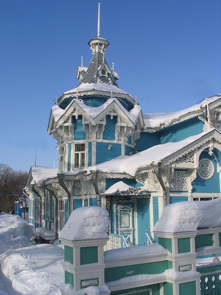 Vinter i Tomsk