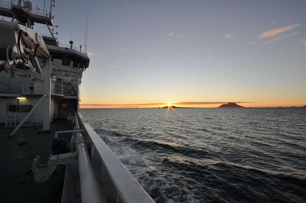 Tokt i Norskehavet. Foto: Emil Jeansson