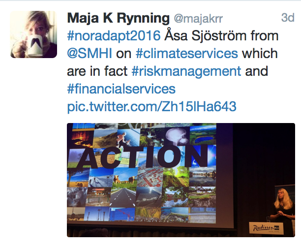 tweet from Maja K Rynning