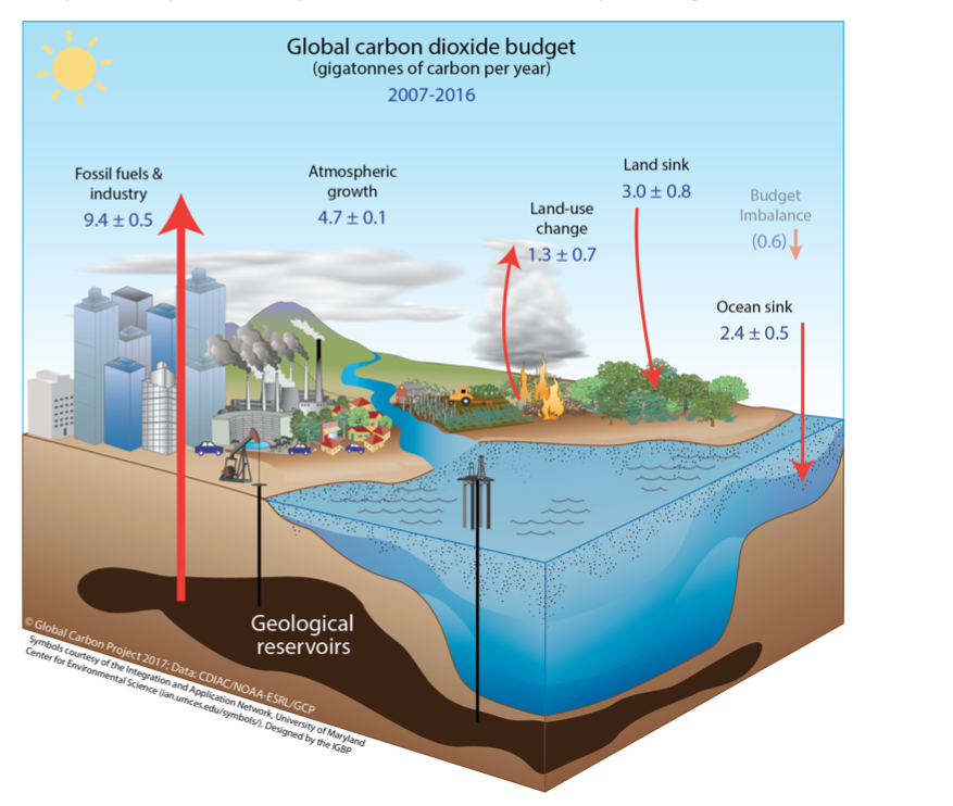 The Global Carbon Budget 2016